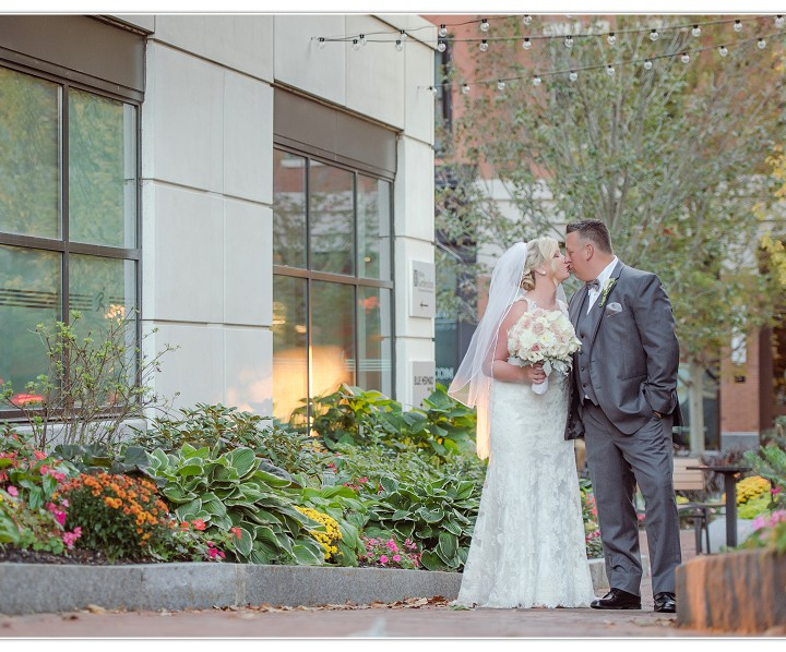 NH Wedding Photographers / Millyard Studios / Portsmouth Harbor Events / Ashley & Scott