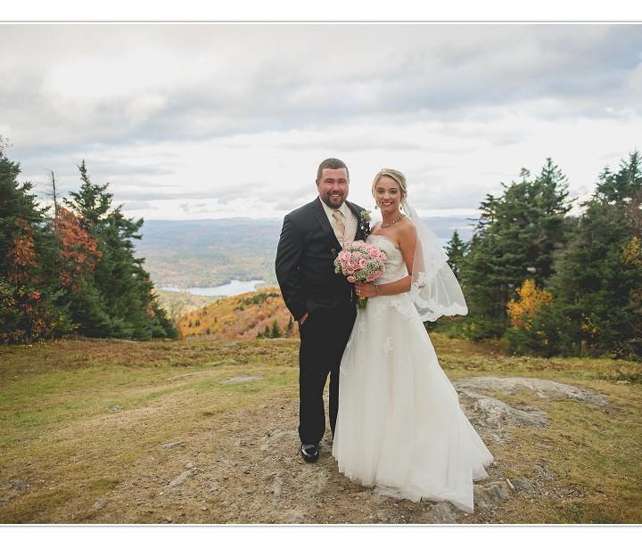 NH Wedding Photographer/ Mt. Sunapee Resort/ Elise & Ben