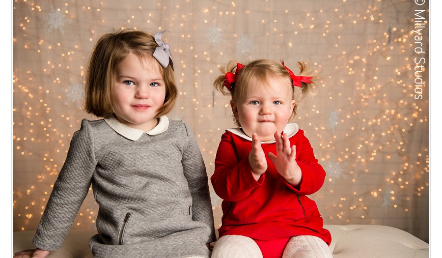 Christmas Photos by Millyard Studios/ In Studio/ Holiday Photographer