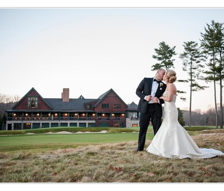 NH Wedding Photographer / Millyard Studios /The Renaissance Golf Club / Lauren & Rob