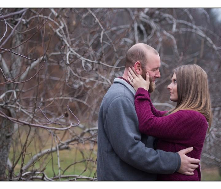 NH Wedding Photographers / Millyard Studios /Engagement Session / Amy & Ken