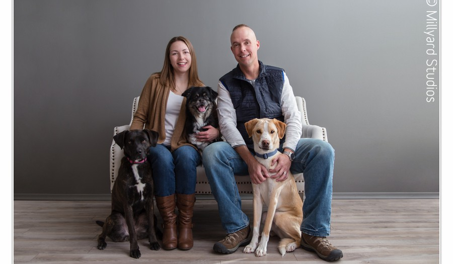 NH Pet Photographer / Millyard Studios / Family Session