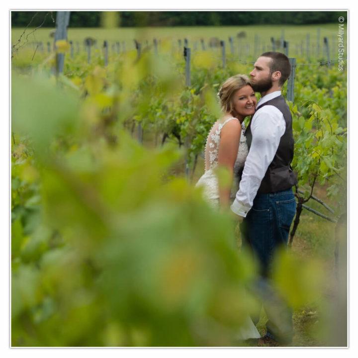 NH Wedding Photographer / Millyard Studios / Flag Hill Winery / Crystal & Tom
