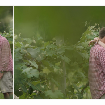 Engagement Photographer NH / Rustic Vineyard / Millyard Studios