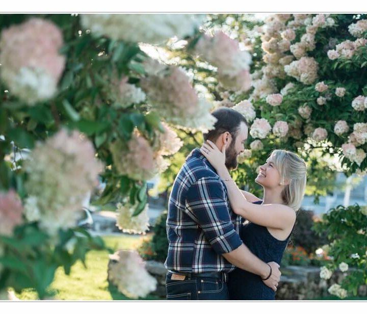 Engagement Photographer / New Hampshire / Millyard Studios