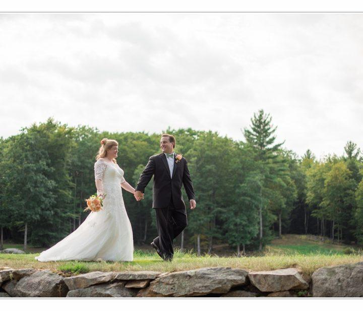 NH Wedding Photographer / Millyard Studios / Abbott Farms / Heather & Adam
