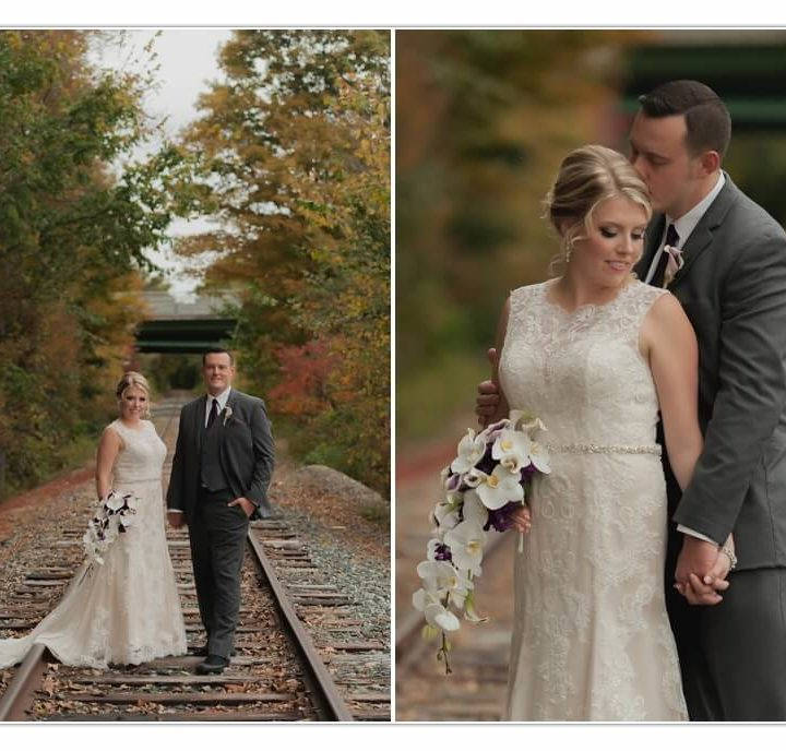 Nh Wedding photographer / Millyard Studios / Jennifer & Jon / The Common Man, Plymouth NH