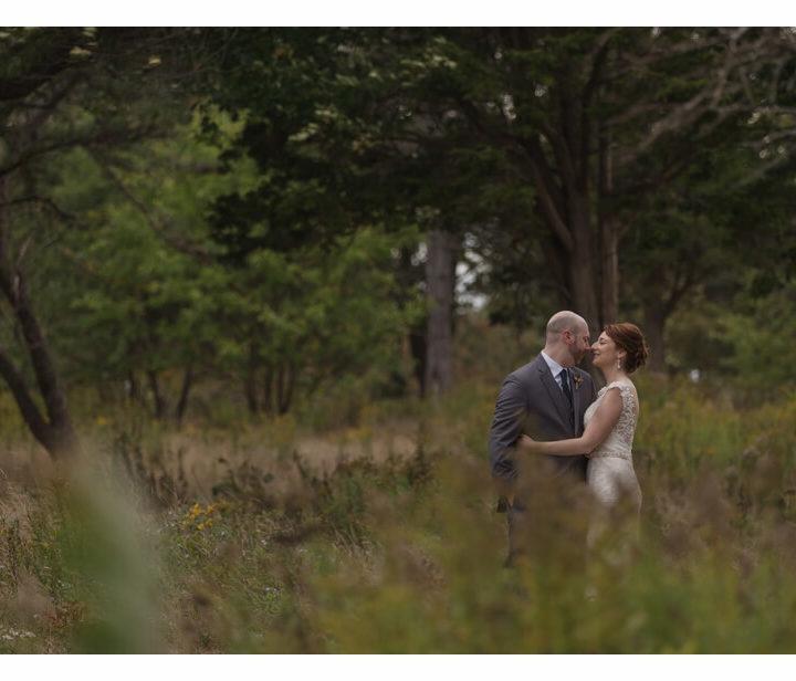 NH Wedding Photographer / Millyard Studios / Liz & Dan / Seacoast Science Center
