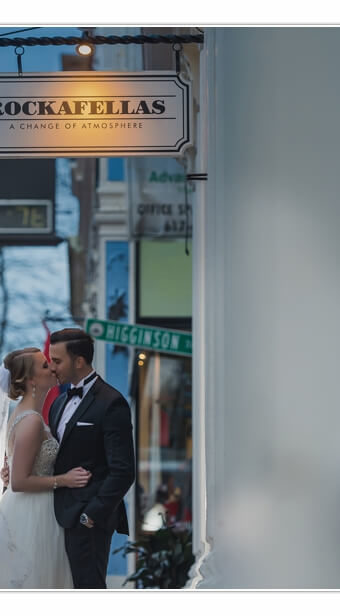 NH Wedding Photographer / Millyard Studios / Colonial Hall at Rockafellas / Kemma & Chris