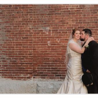 NH Wedding Photographer / Millyard Studios / Rivermill at Dover Landing / Caitlin & Nick