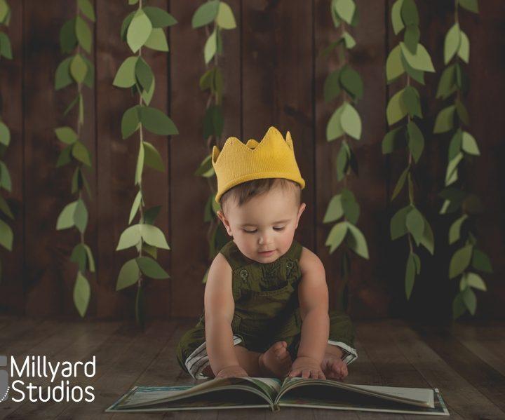 One Year Baby Photographer/ Millyard Studios / NH