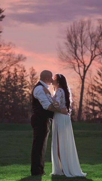 NH Wedding Photographer / Millyard Studios / Armidys & Ed / Manchester Country Club
