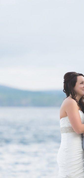 NH Wedding Photographer / Millyard Studios / The Wolfeboro Inn / Jenny & Shawn