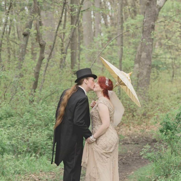 NH Wedding Photographer / Millyard Studios / Marie & Jesse / Massachusetts Backyard Wedding