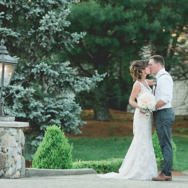 NH Wedding Photographer / Millyard Studios / Tewksbury Country Club / Lindsay & Pete