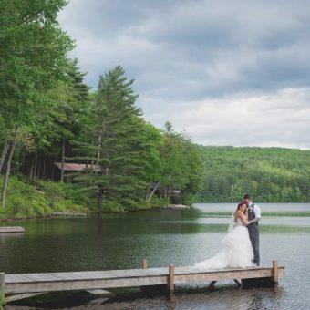 NH Wedding Photographer / Millyard Studios / Lake Shore Village Resort / Dana & Ryan