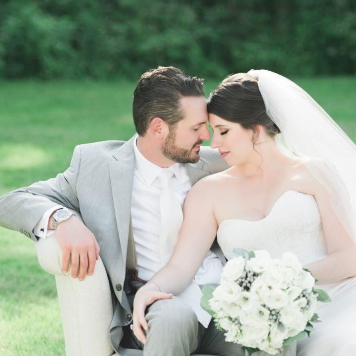 NH Wedding Photographer / Millyard Studios / Intimate Backyard Wedding / Sophia & Chris