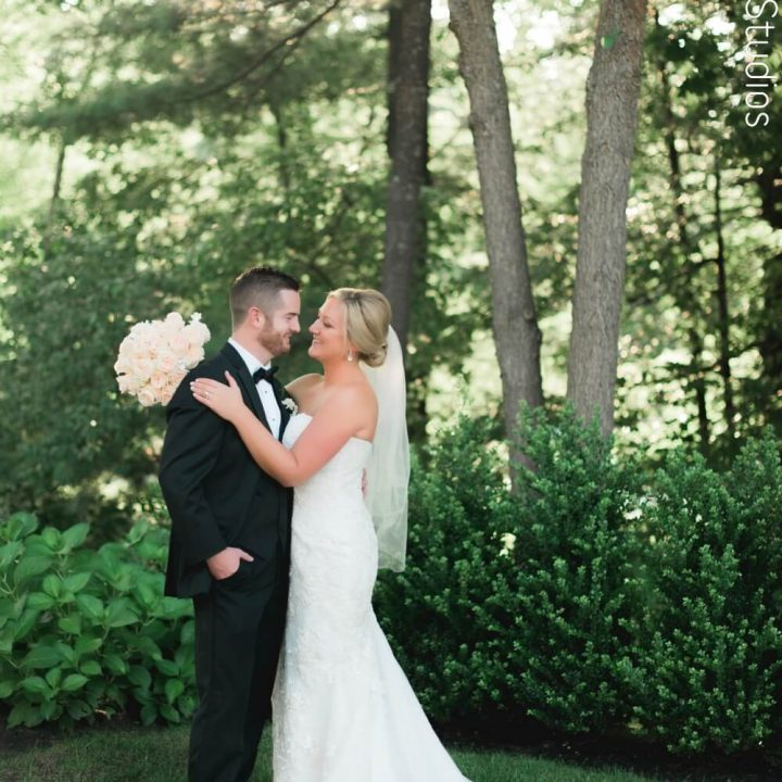 NH Wedding Photographer / Millyard Studios / Lakeview Pavilion / Kerry & Sean