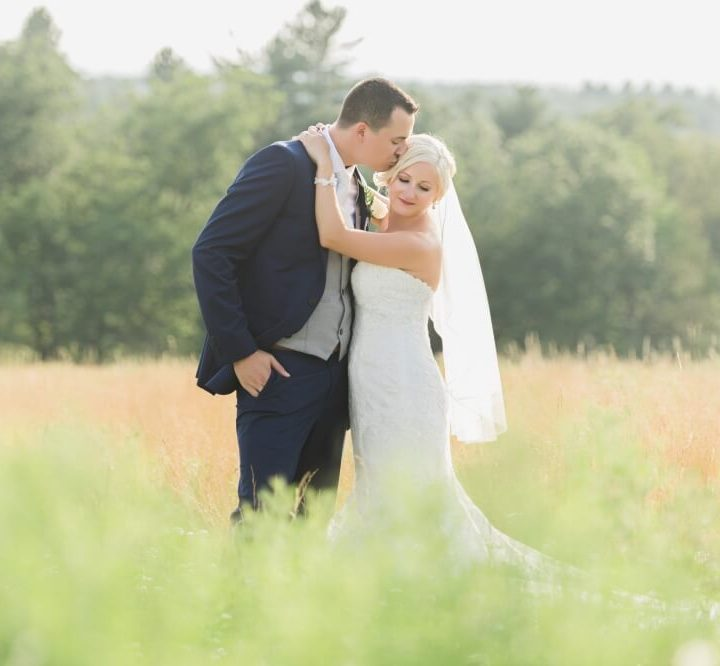 NH Wedding Photographer / Millyard Studios / Kristen & Ben / Harrington Farm