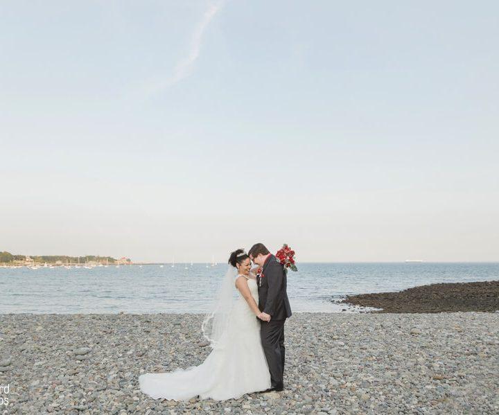 NH Wedding Photographer | Millyard Studios | The Oceanview | Laura & Ian
