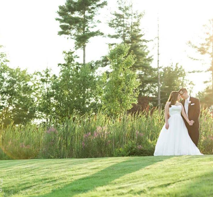 NH Wedding Photographer / Millyard Studios / Brookstone Park / Michele & Gui