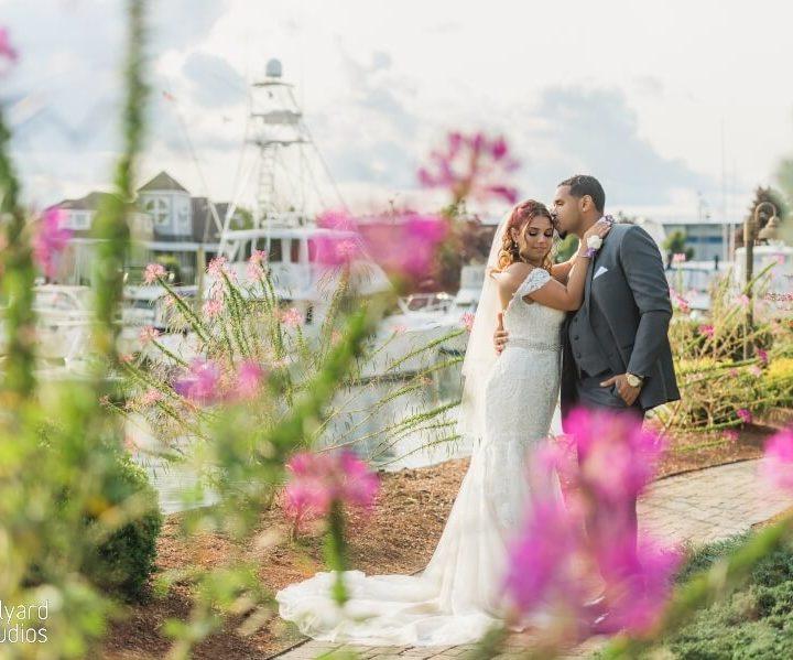 NH Wedding Photographer  / Millyard Studios / Danversport Yacht Club / Jackie & Milton