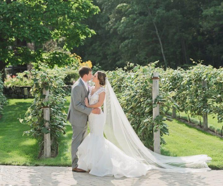 NH Wedding Photographer / Millyard Studios / Kate & Rob / Birchwood Vineyards