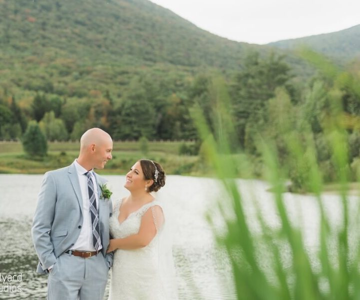 NH Wedding Photographer / Millyard Studios / Waterville Valley Resort / Kasey & Rich