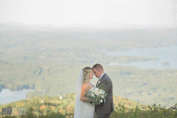 NH Wedding Photographer / Millyard Studios / Mount Sunapee Resort / Alex & Brian