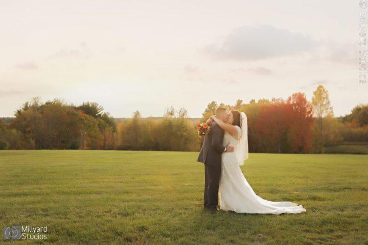 NH Wedding Photographer / Millyard Studios / Dell-Lea / September & Loghan