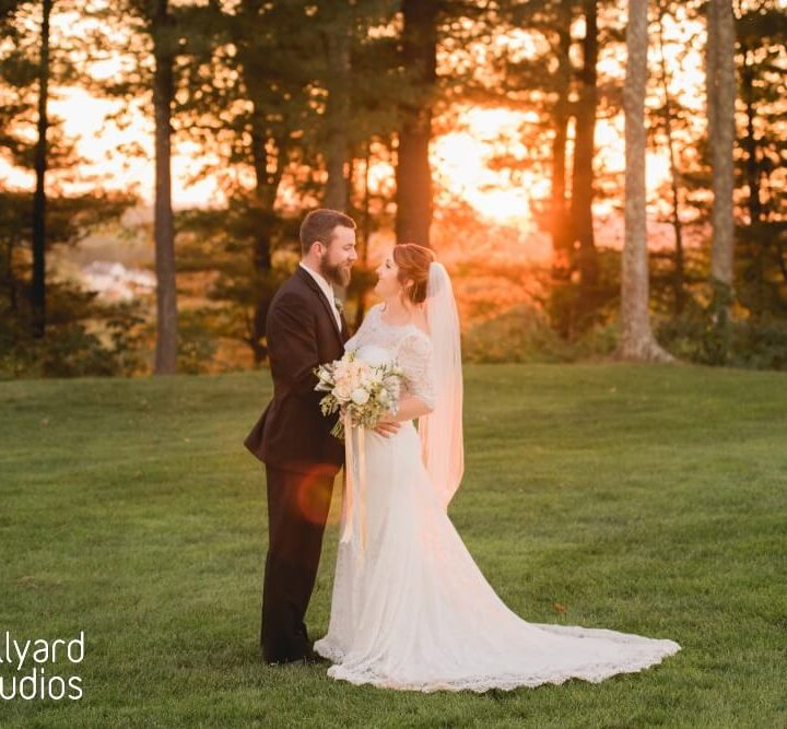 NH Wedding Photographer / Millyard Studios / Sky Meadow Country Club / Suzanne & Mike