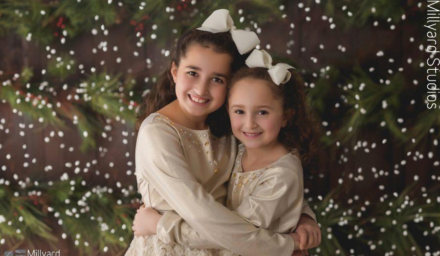 Children's Photographer NH / Holiday Studio Session