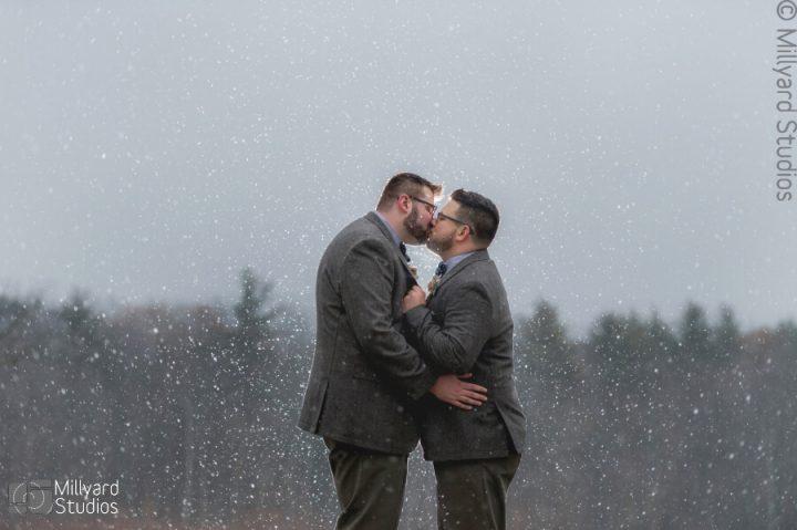 NH Wedding Photographer / Millyard Studios / Steele Hill Resort / Danny & Kevin