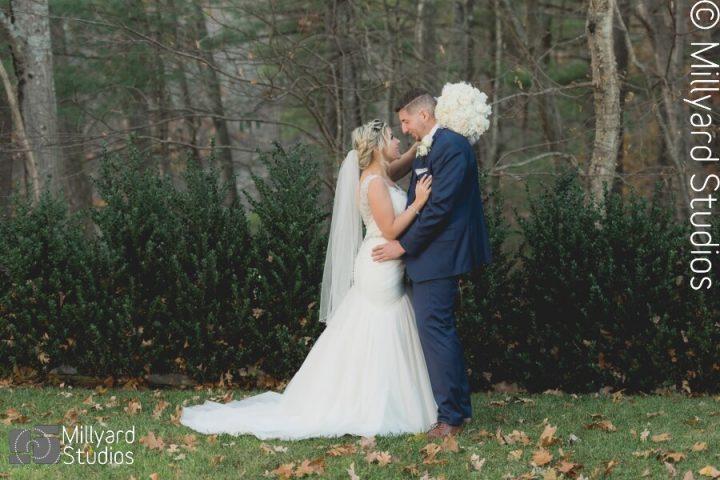 NH Wedding Photographer / Millyard Studios / Lakeview Pavillion / Shavon & Jordan