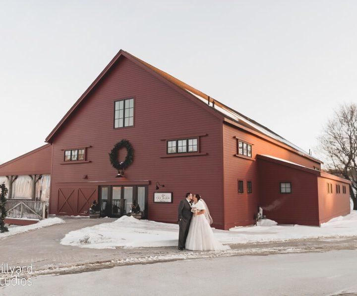 NH Wedding Photographer / Millyard Studios / The Barn at Gibbet Hill / Elizabeth & Christopher