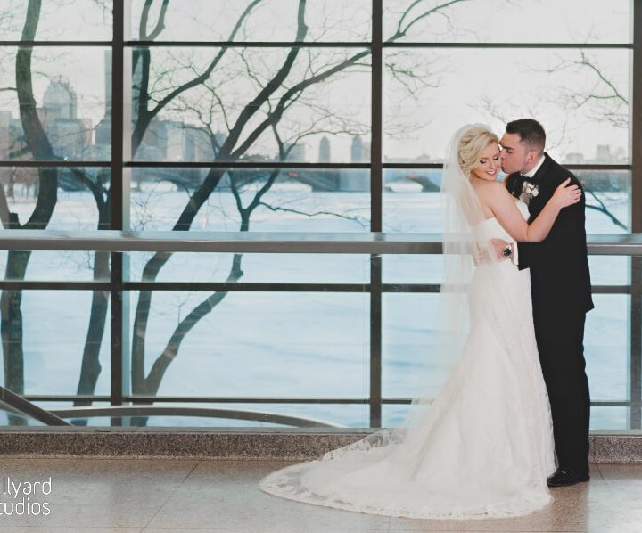 NH Wedding Photographer / Millyard Studios /  Boston Museum of Science / Courtney & Michael