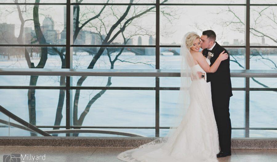 NH Wedding Photographer / Millyard Studios /  Boston Museum of Science / Courtney & Michael