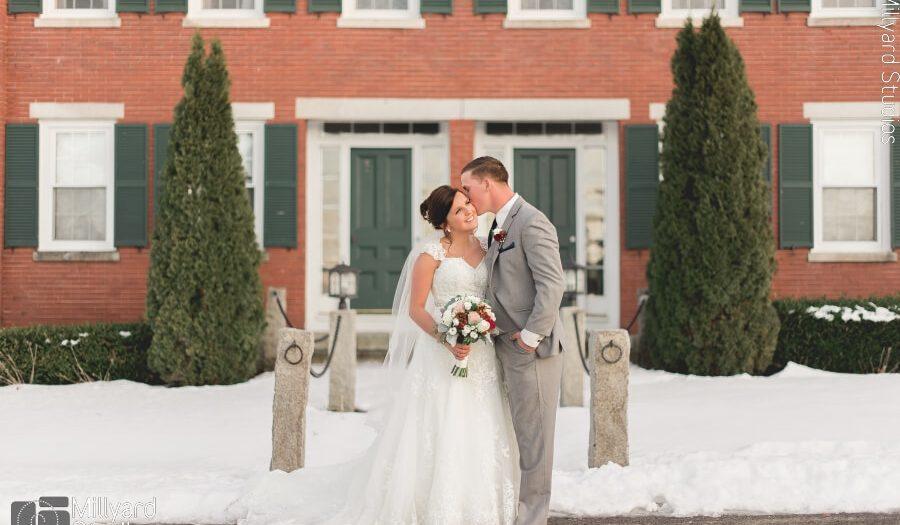 NH Wedding Photographer / Millyard Studios / The Red Barn at Outlook Farm / Allie & Joe