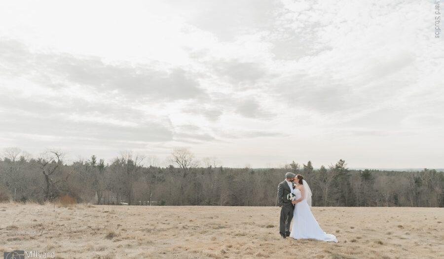 Wedding Photography NH / Millyard Studios / Harrington Farm / Stephanie & Steven