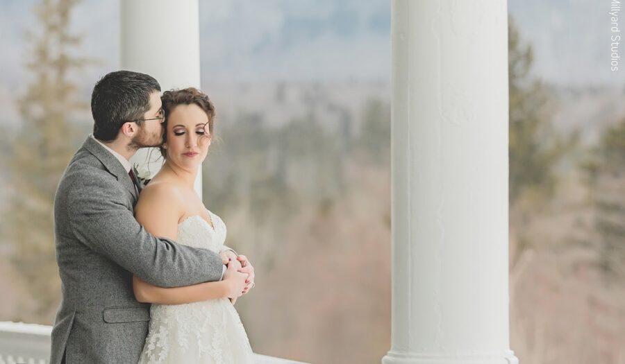 NH Wedding Photographer | Millyard Studios | Omni Mount Washington Hotel | Janna & Graham