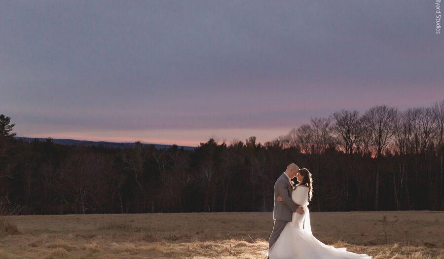 NH & MA Wedding Photographer | Millyard Studios | Regan & Josh | Harrington Farm