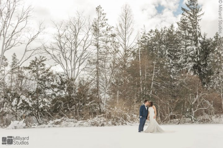 NH Wedding Photographer / Millyard Studios / Peirce Farm at Witch Hill / Danielle & Chris