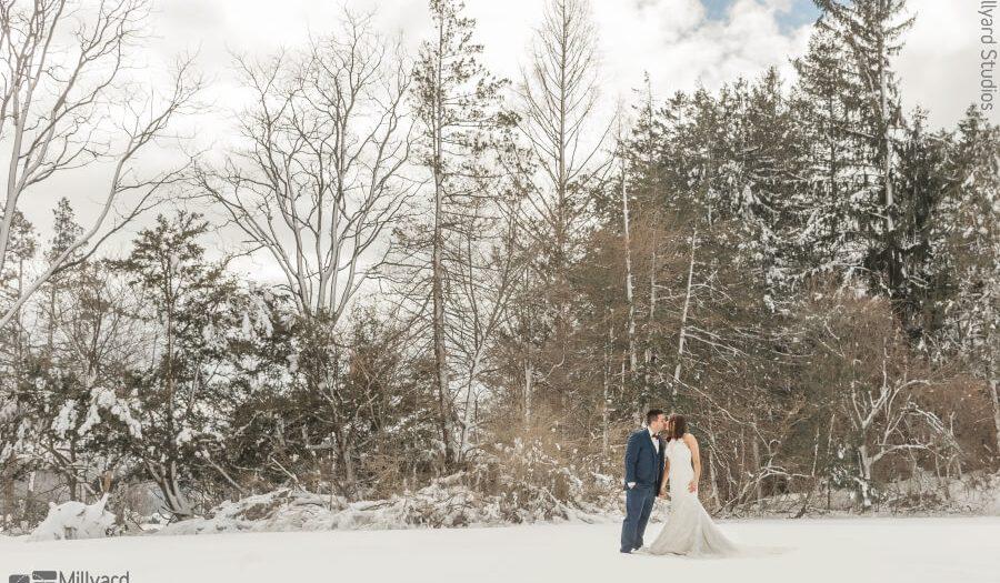 NH Wedding Photographer / Millyard Studios / Peirce Farm at Witch Hill / Danielle & Chris