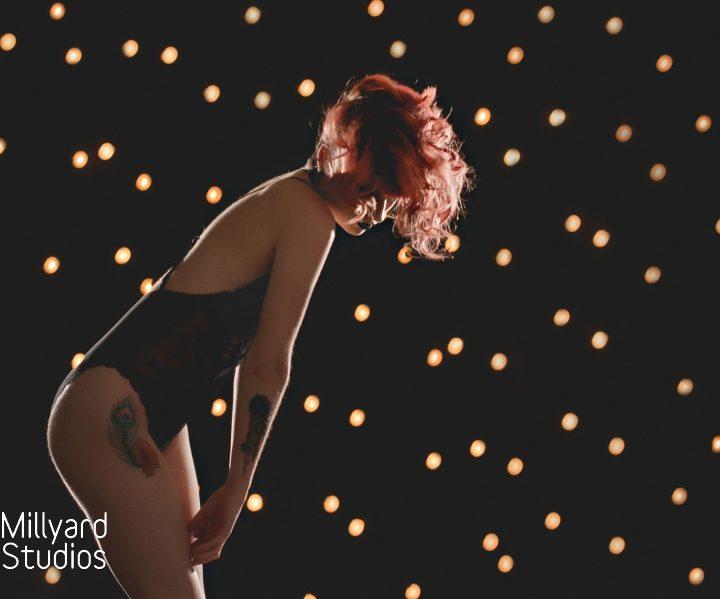 NH Boudoir Photographer/ Millyard Studios/ Glam Girl Session