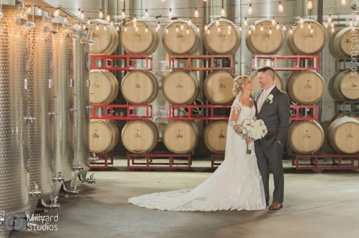 NH Wedding Photographer / Millyard Studios / LaBelle Winery / Kristina & Ed