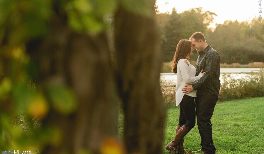 NH Engagement Photographer / Millyard Studios / Shannon & Kevin