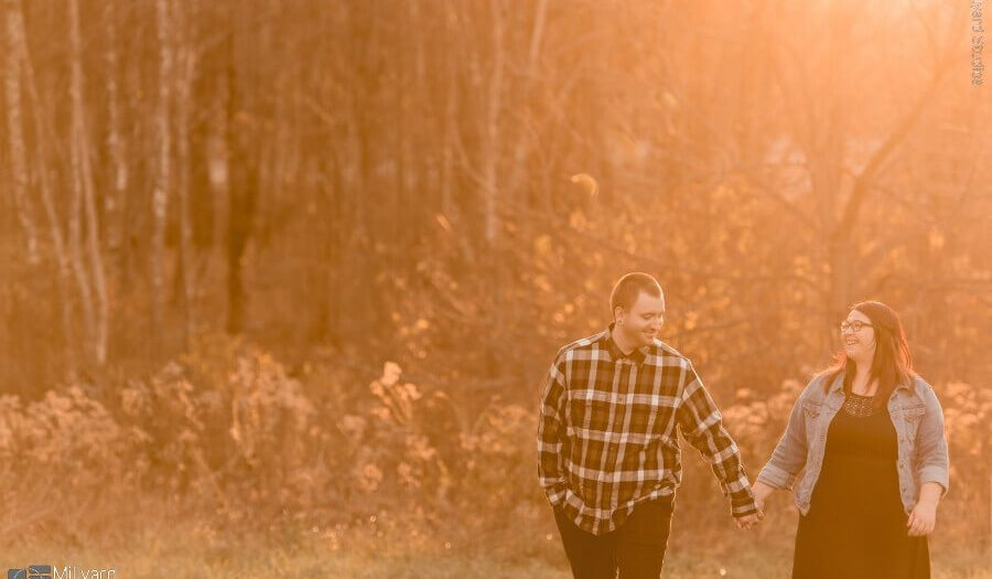 NH Engagement Session / Millyard Studios / Caitlin & Christopher