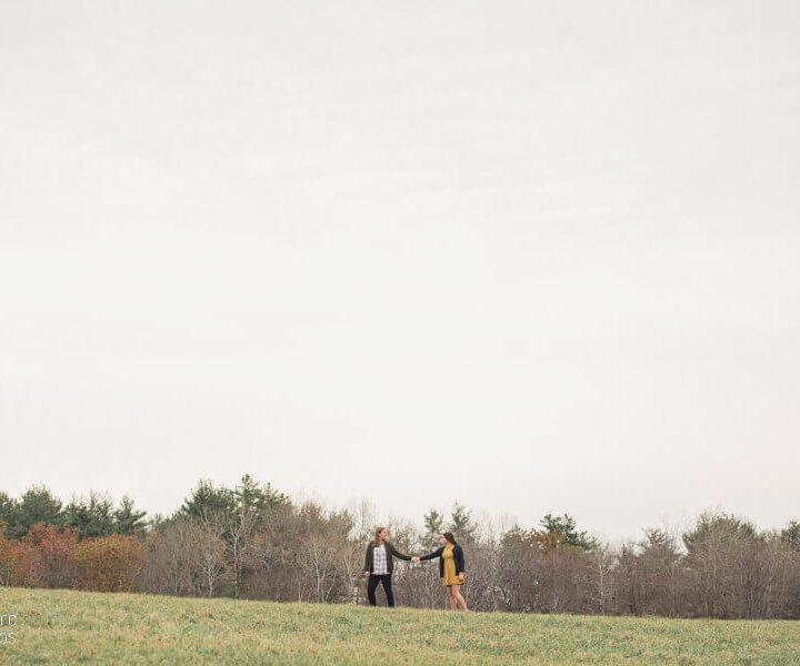 NH Engagement Photographer / Millyard Studios / Sarah & Margaret