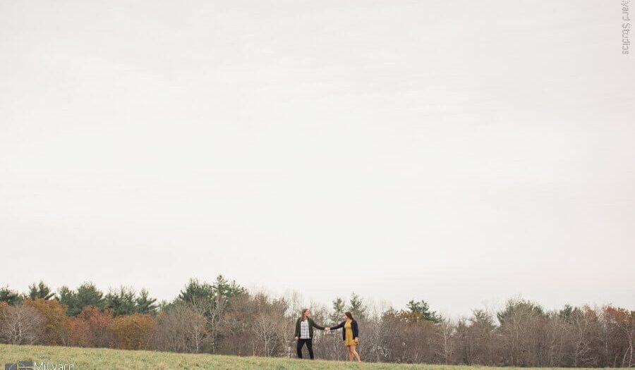 NH Engagement Photographer / Millyard Studios / Sarah & Margaret