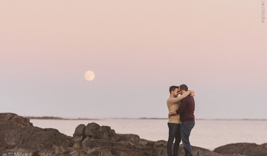 NH Engagement Photographer / Millyard Studios / William & Drew